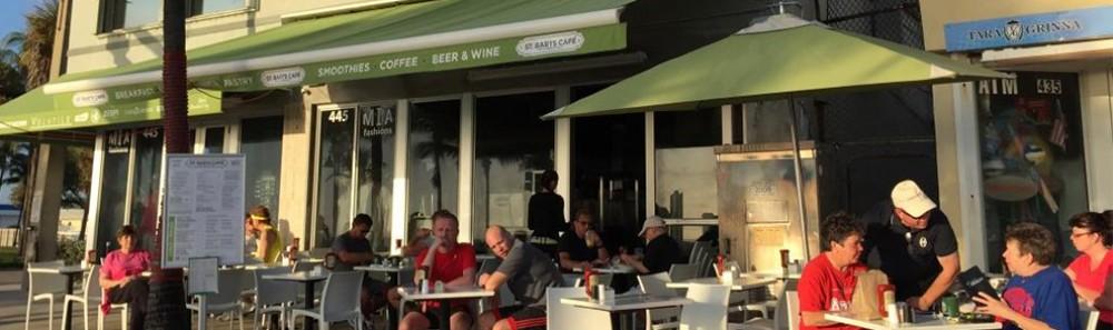 St Barts Cafe Fort Lauderdale Menu