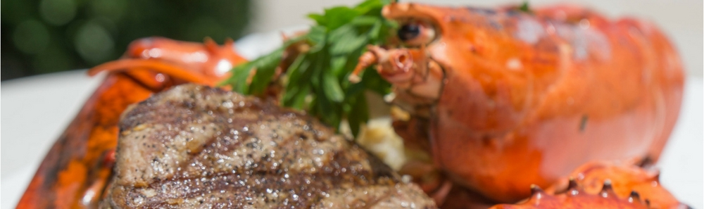 Cafe Ibiza Lobster and Filet