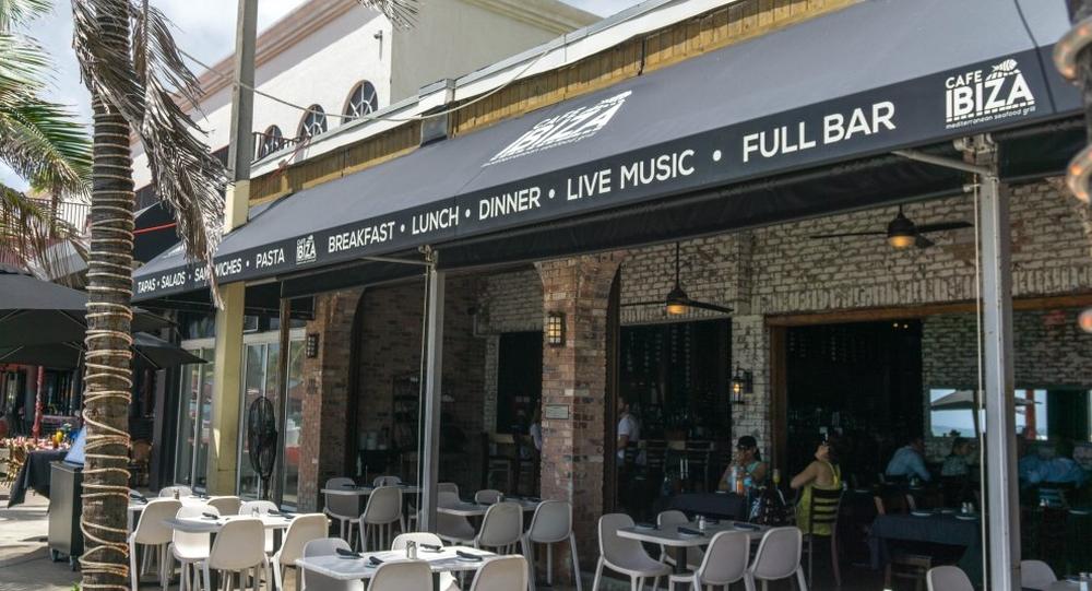 Cafe Ibiza Fort Lauderdale Menu